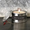 Tin candle - Wild fig & pear