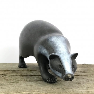 Badger sculpture - Limited Edition of 150