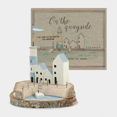 Quayside - Mini wooden scene