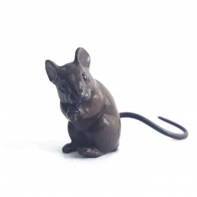 Dormouse - bronze (Limited Edition of 750 Worldwide)