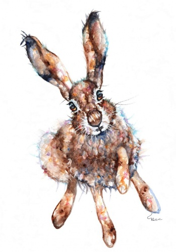 March hare (A5 print)